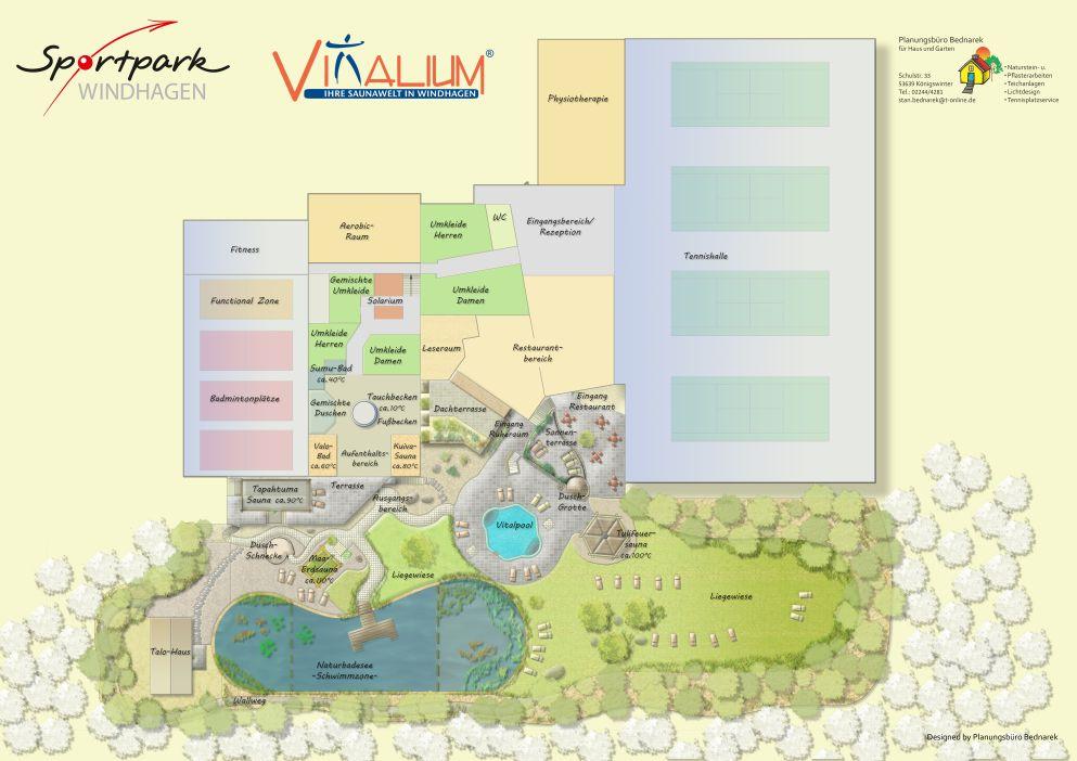Übersichtsplan Vitalium Windhagen